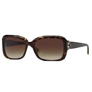 DKNY Dark Tortoise Brown Gradient  sunglasses READ